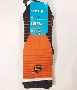 """Stance NBA Phoenix Suns """"Logo Crew Sun"""" Socks"""